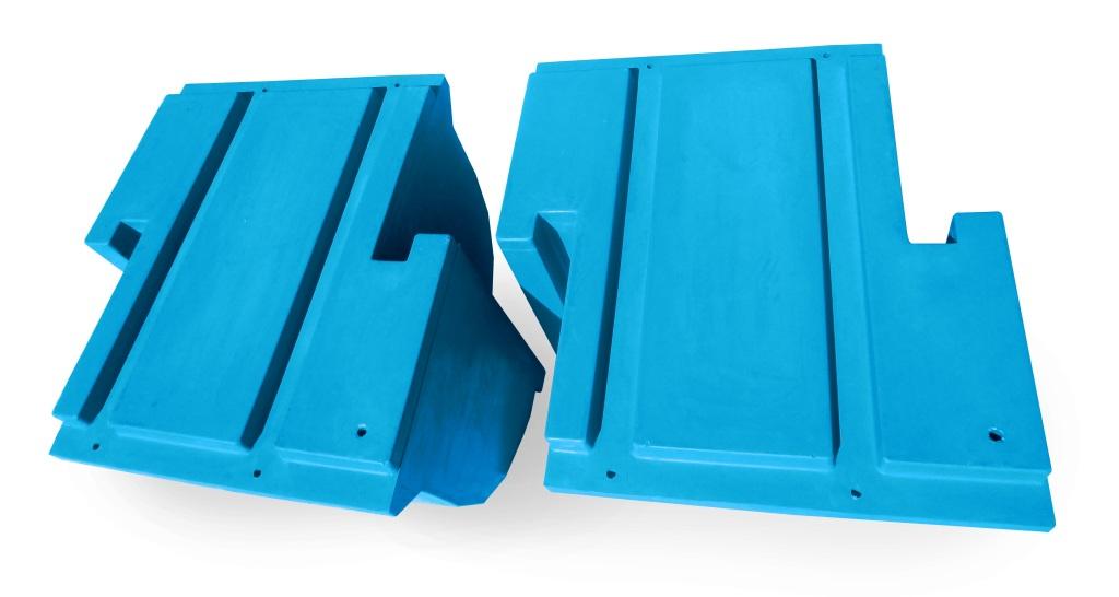 пластиковый поплавок для понтона