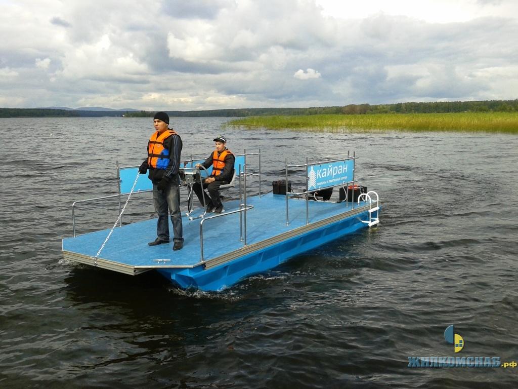 плавучие понтоны для рыбалки