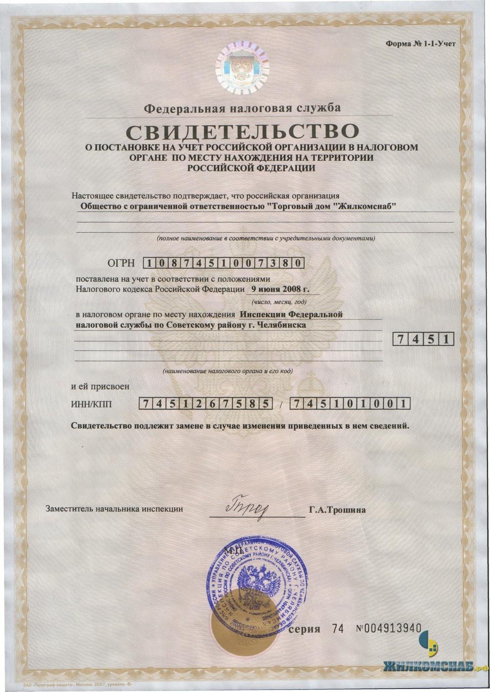 Как получить и узнать ИНН по паспорту для физического лица? 96